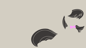 My Minimal Pony: Octavia by UtterlyLudicrous