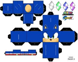 Sonic Cubee 2 by Raza5