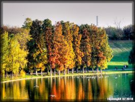 Autumn evening... by Iulian-dA-gallery