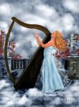 Heavenly Harp by OhLizz