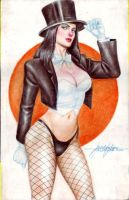 ZATANNA by JUN DE FELIPE  (11122015) by rodelsm21