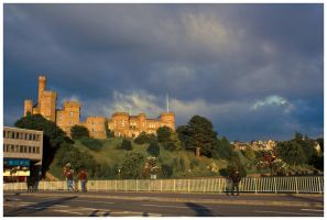 Inverness Castle by globalsinner