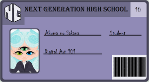 Next Generation High School ID by PrincessLunarWolf