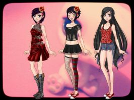 I edit the dolls .2 by AmourSucreFans
