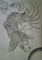koi or is it coy or coi fish by onemanwolfpack123