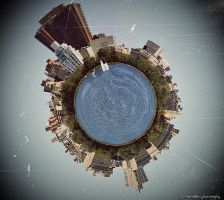 Central Park Polar Panorama by PortraitOfaLife