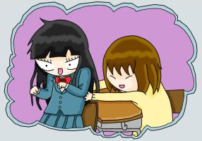 messing with sawako by lIgHtInG-FaNg
