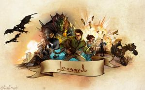 Leonardo: the game by loish