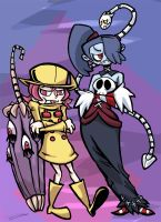 Skullgirls - Leftovers by jackelbeaver