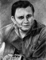 Johnny Cash by AnnaShell
