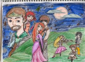 A Celtic Story- Color by MousieDoodles