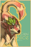 Alice - Art Trade capu by Wolfunny