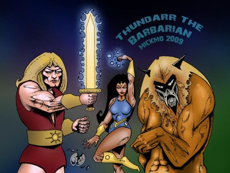 Thundarr The Barbarian Returns by mickmoart
