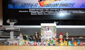 Super Smash Brothers Toys by cyberturnip