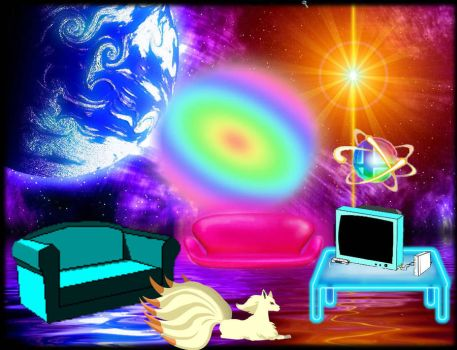 Outer space room by shadowhorsegirl28