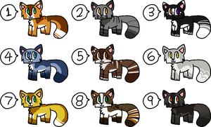 [OPEN] - Kitty Adopts Batch 1 by Featheries