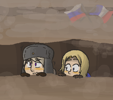 meanwhile in the trenches... by snaximation