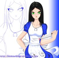 Alice Madness Returns Colored by ShaianWillems