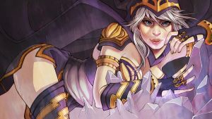 Ladies of League: Ashe by ElizabethBeals