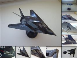 F-117 Nighthawk by WormWoodTheStar