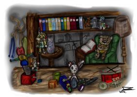 The old shop by JadeTheAngle777