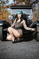Fall Pinup II by Miss-MischiefX
