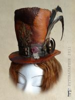 Steampunk mini-hat by Futuravapeur