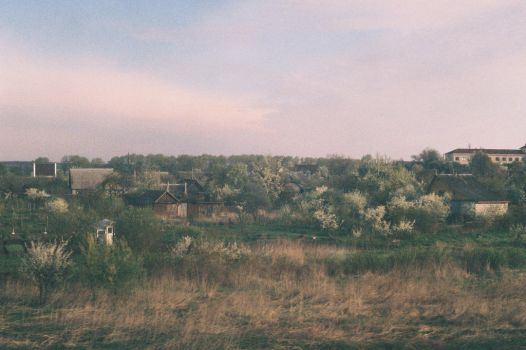 view from a railway by femminetin