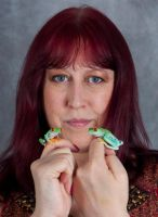 Me and my frogs by AngiWallace