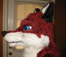 Fox Mask View 2 by forensicfox