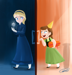 Frozen-You've never had a real birthday before. by ChiehChen