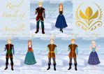 Royal Family of Arendelle by melanie12271994
