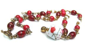 Lucky Cat Necklace by vaoni