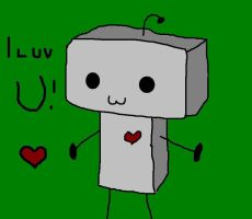 Robot Loves You by theepicmellofangirl