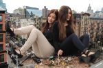 Giantess Girls in New York by lowerrider