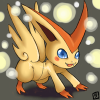 Victini by niwatori