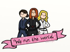 We Run The World by bababug