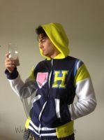 Haruka Fleece Hoodie by Weeaboo-Warehouse
