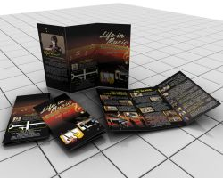 life in music brochure by pampilo