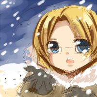Snow already? by Jin-E