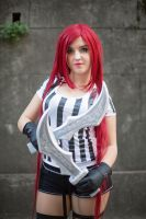 Katarina red card cosplay from league of legends by ValeeraHime