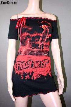 Friday The 13th Dress by KillerKittyClothing