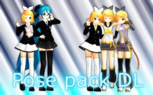 Pose pack DL by ShootingStarBlue