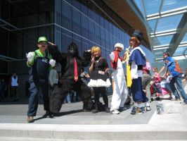 Anime Evolution 09- Group shot by PipoMadness1992