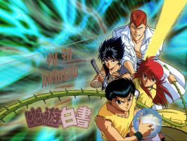 YU YU Hakusho by tubster68