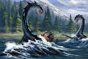 Orm Attack by BenWootten
