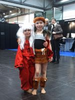 InuYasha+Kouga children cos by Siberianchan