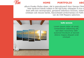Website Concept: TWO by Arfigoth