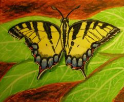 Painted Swallowtail by Lady-KL