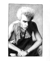 Billy Idol by LaChauveSourisDoree